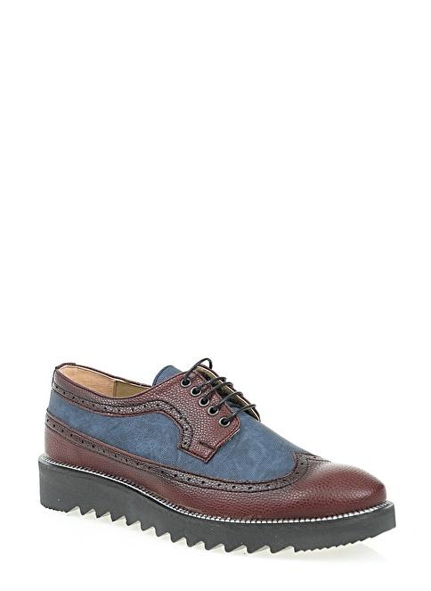 Derigo Oxford Ayakkabı Bordo